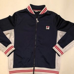 Vintage fila sport track jacket